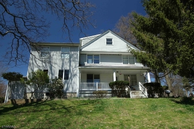 Parsippany Single Family Home For Sale: 160 Parsippany Blvd
