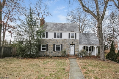 Morristown Single Family Home For Sale: 195 Franklin St