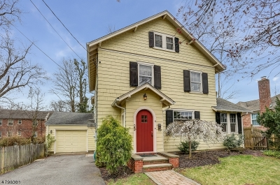Chatham Boro Single Family Home For Sale: 6 Dunbar St