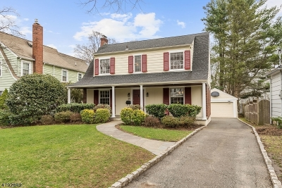 Morristown Single Family Home For Sale: 25 Olmstead Rd