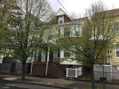 Paterson City Multi Family Home For Sale: 151 N 4th St