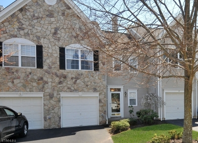 Bernards Twp. Condo/Townhouse For Sale: 8 Mayflower Dr
