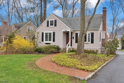 Chatham Boro Single Family Home For Sale: 44 Inwood Rd