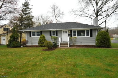 New Providence Single Family Home For Sale: 2 Pearl St