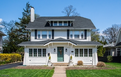 Glen Rock Boro Single Family Home For Sale: 83 Rodney St
