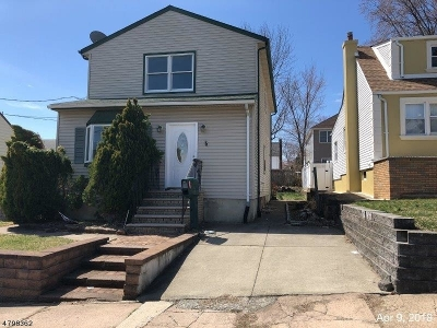 Paterson City Single Family Home For Sale: 247-249 Burlington Ave