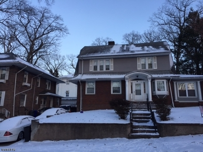 Paterson City Single Family Home For Sale: 99-103 E. 37th Street