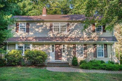 Mendham Boro, Mendham Twp. Single Family Home For Sale: 7 Carroll Dr
