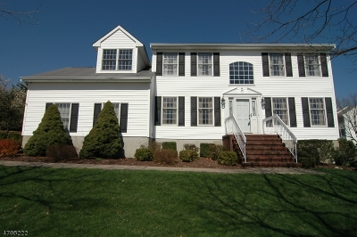 Roxbury Twp. Single Family Home For Sale: 75 Fox Chase Ln