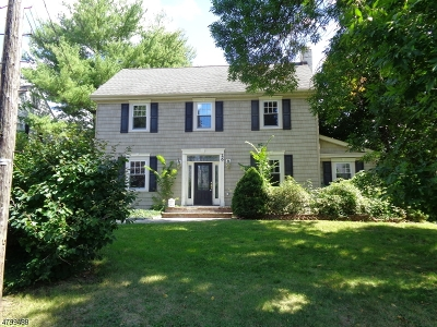 Millburn Twp. Single Family Home For Sale: 26 Whitney Rd