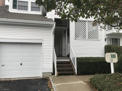 Bernards Twp. Condo/Townhouse For Sale: 107 Smithfield Ct #107