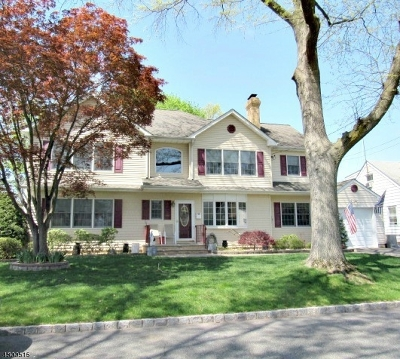 Kenilworth Boro Single Family Home For Sale: 140 N 24th St
