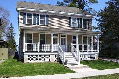 Frenchtown Boro Condo/Townhouse For Sale: 11 6th St