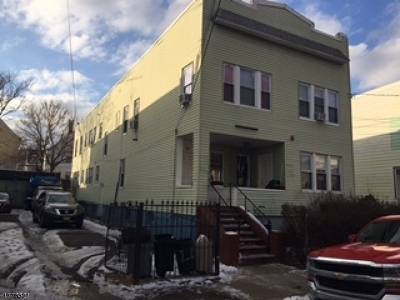 Paterson City Multi Family Home For Sale: 120-122 E 32nd St