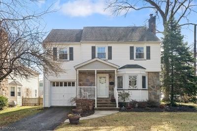 Cranford Twp. Single Family Home For Sale: 119 Makatom Dr