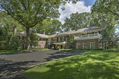 Mendham Boro, Mendham Twp. Single Family Home For Sale: 2 Oak Forest Ln
