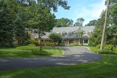 Bernardsville Boro Single Family Home For Sale: 90 Boulderwood Dr
