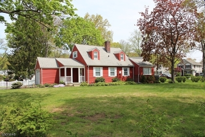 Cranford Twp. Single Family Home For Sale: 8 Cherokee Rd