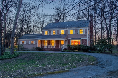 Harding Twp. Single Family Home For Sale: 61 Anthony Wayne Rd