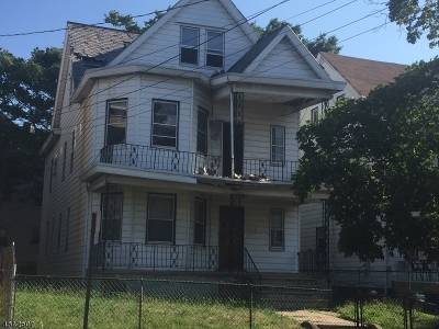 Paterson City Multi Family Home For Sale: 27 18th Ave