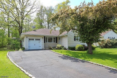 New Providence Single Family Home For Sale: 120 Hawthorne Dr