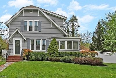 Bernards Twp., Bernardsville Boro Single Family Home For Sale: 9 W Craig St
