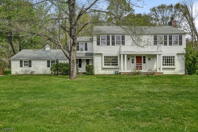 Harding Twp. Single Family Home For Sale: 10 Peachcroft Rd
