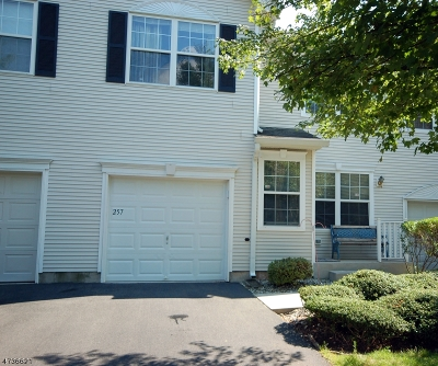 Bridgewater Twp. Condo/Townhouse For Sale: 257 Marcia Way