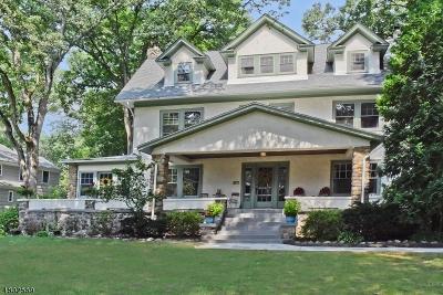 Mountain Lakes Boro Single Family Home For Sale: 065 Melrose Rd