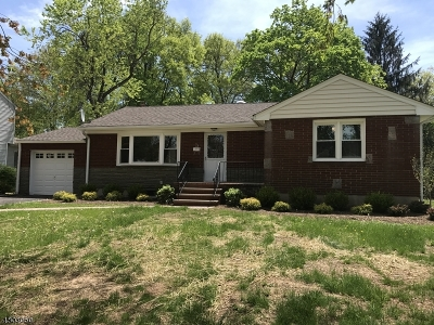 Berkeley Heights Single Family Home For Sale: 95 Forest Ave