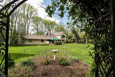 Bernards Twp. Single Family Home For Sale: 89 Culberson Rd