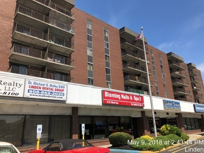 Linden City Condo/Townhouse For Sale: 10 N Wood Ave, Unit 205