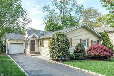 Millburn Twp. Single Family Home For Sale: 825 Ridgewood Rd