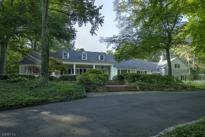 Bernardsville Boro Single Family Home For Sale: 74 Ballantine Rd