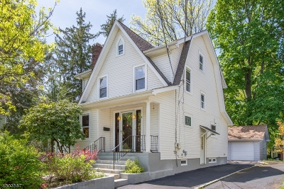 Millburn Twp. Single Family Home For Sale: 8 Oakdale Ave