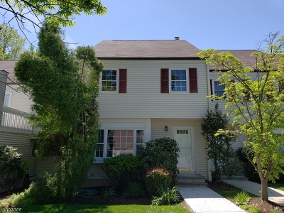 Mendham Boro, Mendham Twp. Condo/Townhouse For Sale: 14 Pembroke Dr