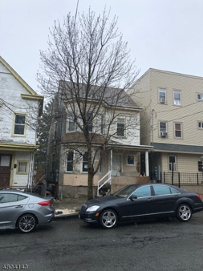 Paterson City Multi Family Home For Sale: 138 N 5th St