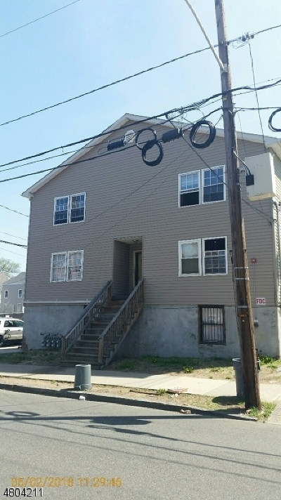Paterson City Multi Family Home For Sale: 61-63 Auburn St