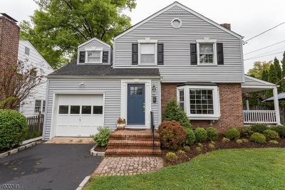 Westfield Town NJ Single Family Home For Sale: $649,900