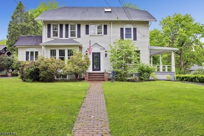 Mendham Boro Single Family Home For Sale: 62 E Main St