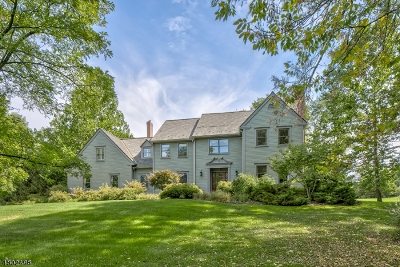Franklin Twp. Single Family Home For Sale: 2 Capoolong Creek Road
