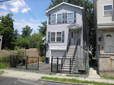 Paterson City Multi Family Home For Sale: 119 12th Ave