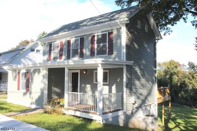 Glen Gardner Boro, Hampton Boro Single Family Home For Sale: 46 Main St