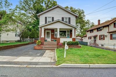 North Haledon Boro Single Family Home For Sale: 27 Lake St