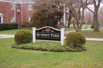 Summit Condo/Townhouse For Sale: 412 Morris Ave, Unit 18 #18
