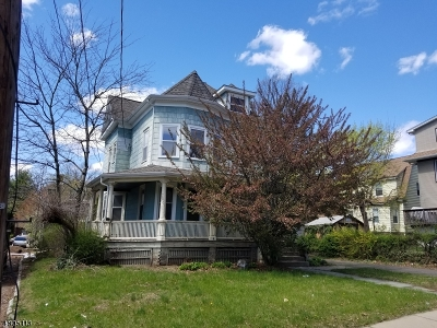 Passaic City Single Family Home For Sale: 36 Reid Ave