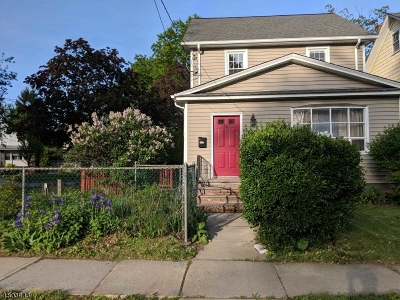 Roselle Park Boro Single Family Home For Sale: 629 Sheridan Ave