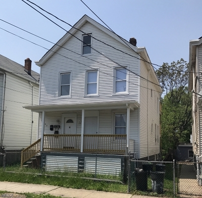 Paterson City Multi Family Home For Sale