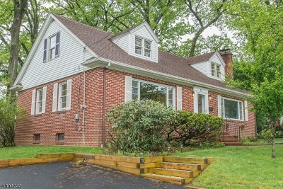 North Haledon Boro Single Family Home For Sale: 50 Harmon Pl
