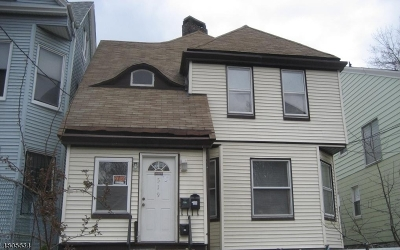 Newark City NJ Multi Family Home For Sale: $350,000
